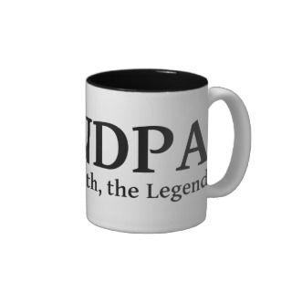 Grandpa The Myth The Man The Legend Coffee Mug
