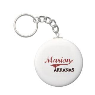 Marion Arkansas City Classic Key Chain