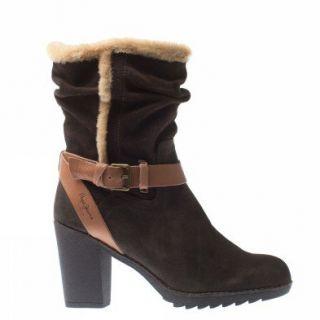 Pepe Jeans Tot 263 B Pfs50262 898 Damen Schuhe Dunkelkastanienbraun