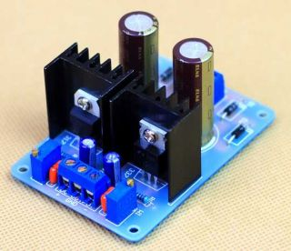 LM317 & LM337 IC based Dual Regulated Power Supply Board Kit for DIY