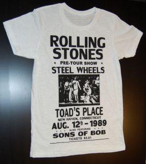 Shir Rolling Sones   Seel Wheels   Live our 1989