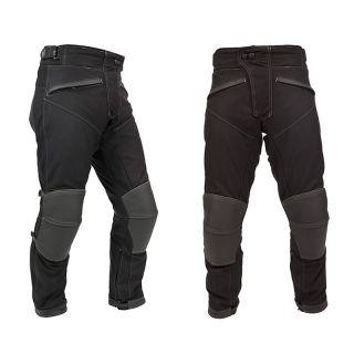 Weise Psycho Wasserfeste Dual Leder Und Textil Motorrad Biker Hosen