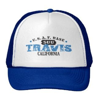 Air Force Base   Travis, California Trucker Hat