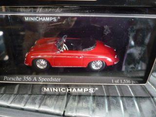 MINICHAMPS * PORSCHE 356 A SPEEDSTER * OVP * 143