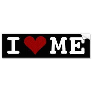 Heart Me Bumper Sticker bumper stickers by yourmamagreetings