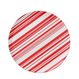 Candy Cane Christmas Plates  Candy Cane Christmas Plate Designs