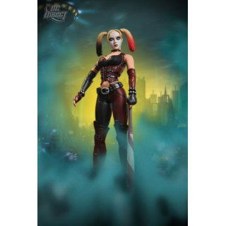 Batman Arkham City Figur Harley Quinn 17cm Spielzeug