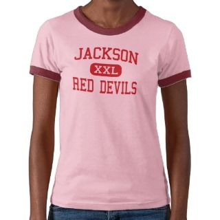 Jackson   Red Devils   High   Jackson Georgia Tee Shirt