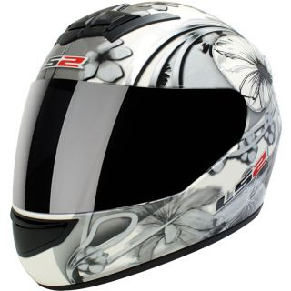 LS2 FF351 STARDUST 3 LADIES ACU GOLD RACING MOTORCYCLE CRASH HELMET