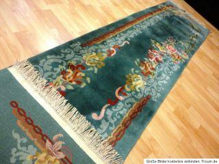 Chinateppich Läufer Bettumrandung Teppich Orientteppich Carpet