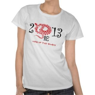 Year of the snake, Chinese New Year 2013 Tshirt