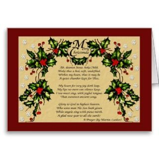 Christmas Prayer Greeting Cards
