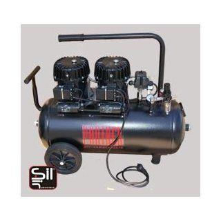 Kompressor Flüsterleise SILAIR mit nur 42 dB, Black Panther P100