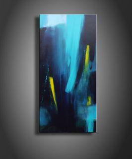 SABINE SCHRAMM Bild Abstrakt Acryl Leinwand 50x100
