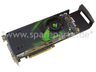 DELL Grafikkarte Nvidia GeForce 8800 GTX 768MB 0DU356