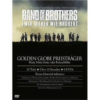 Band of Brothers   Wir waren wie Brüder Die komplette Serie 6 DVDs