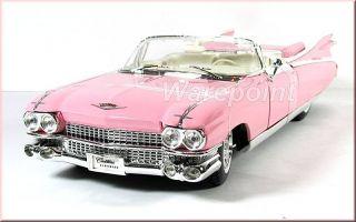 CADILLAC ELDORADO BIARRITZ 1959   Pink   1:18   MAISTO