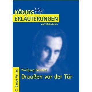 Königs Erläuterungen und Materialien, Bd.299, Draußen vor der Tür