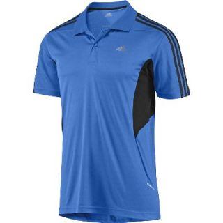 Adidas Herren Polo 365 Climacool Fresh Blau Schwarz NEU