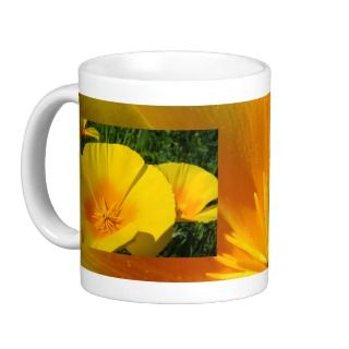 FRIENDS Gift Coffee Mugs Poppy Flowers Christmas