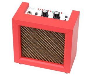 Rocktile Red Mini Amp für Gitarre mit Stimmgerät Mini Combo