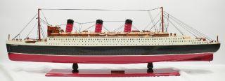 Holz Schiffsmodell Queen Mary, 100CM Modellschiff
