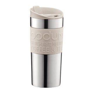 bodum Kaffeebecher Travel Mug 0, 35 l (Farbe Creme, Inhalt 0, 35 l