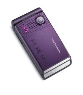 Sony Ericsson Walkman W380i   Electric Purple Ohne Simlock Handy