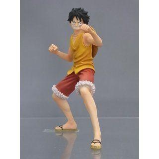One Piece Super Styling MARINE FORD Figur Mokey D. Luffy / Ruffy