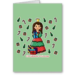 Christmas Princess Card