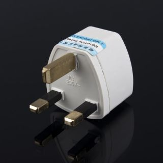 Universal AU US EU to UK AC Power Plug Travel Adapter Outlet Converter