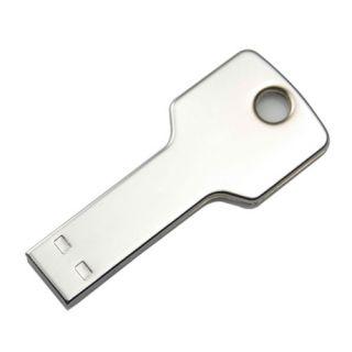 New Silvery Colour Key Shape 4GB/8GB/16GB USB Flash Memory Pen Drive