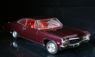 1967 Chevrolet Impala SS 396 LE 1 of 500 Ertl 118