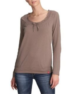 edc by ESPRIT Damen Shirt/ Langarmshirt 011CC1K043