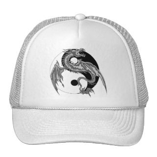 Dragon Yin Yang Gift Hat