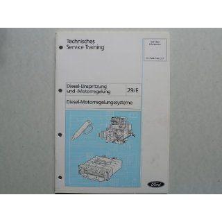 Ford Diesel Einspritzung und  Motorregelung   Diesel