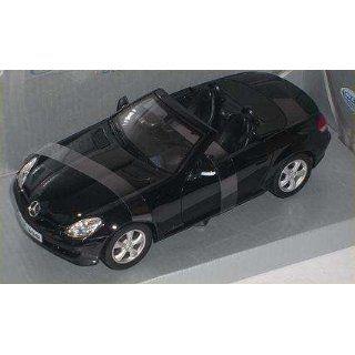 MERCEDES BENZ SLK 350 W171 CABRIO SCHWARZ BLACK CABRIOLET W 171 1/24