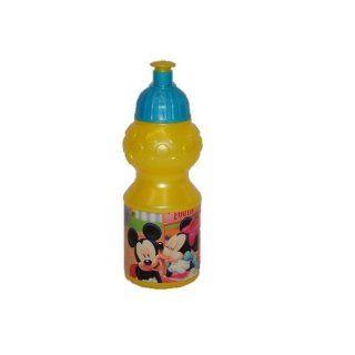 Trinkflasche Minnie und Mickey Mouse   Flasche 350 ml auslaufsicher