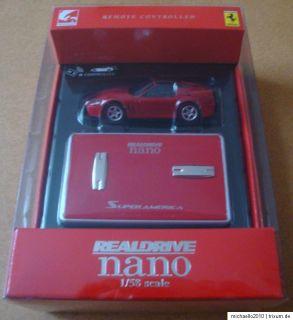 REALDRIVE NANO 158 Scale Ferrari Super America Infrarot Steuerung NEU