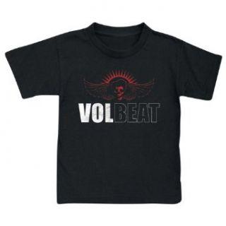 VOLBEAT   Skull Wings   Kinder T Shirt Bekleidung