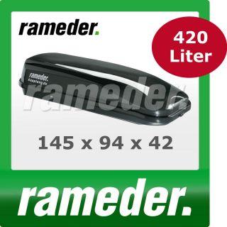 Dachbox Dachcontainer Topbox Rameder black line 420