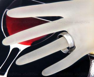 Ring Herrenring Fingerring 19 21mm aus Edelstahl Silber Fa TREND
