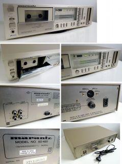 Marantz SD 420 SD420 Stereo Cassette Deck Tapedeck Kassettenrecorder