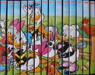 14 LTB Lustiges Taschenbuch 410 423 Sammlung Comic Walt Disney Donald