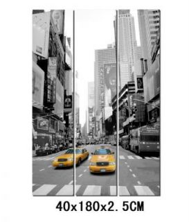 Leinwanddruck Raumteiler New York City 120 x 180 Bild