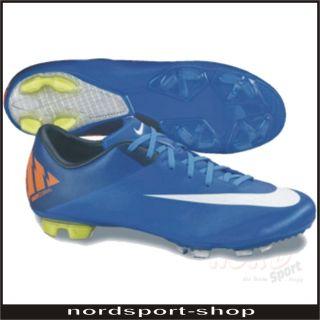 Nike Mercurial Miracle II FG Fußballschuh Gr. 45,5 blau