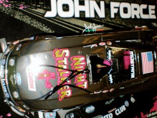 NHRA JOHN FORCE 124 Diecast GOLD Nitro NIGHTSTALKER Funny Car NORWALK