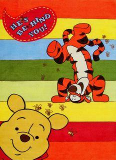 Disney Kinderteppich Baby Pooh 415   Winnie the Pooh und Tiger