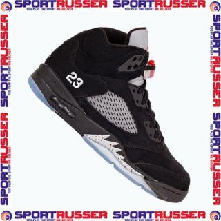 Nike Air Jordan 5 Retro (010) black/red/silver