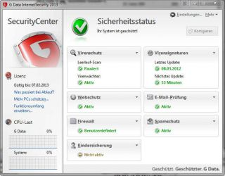 Data InternetSecurity 2013 [Download] Software